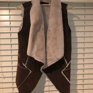 BLANK NYC Shearling Vest